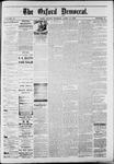 Oxford Democrat : Vol. 50. No.15 - April 17, 1883