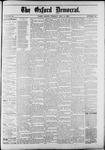 Oxford Democrat : Vol. 50. No.18 - May 08, 1883