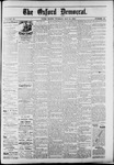The Oxford Democrat : Vol. 50. No.19 - May 15, 1883