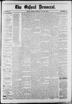 The Oxford Democrat : Vol. 50. No.20 - May 22, 1883