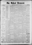 Oxford Democrat : Vol. 50. No.20 - May 22, 1883