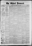 Oxford Democrat : Vol. 50. No.21 - May 29, 1883