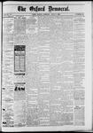 Oxford Democrat : Vol. 50. No.22 - June 05, 1883
