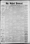 Oxford Democrat : Vol. 50. No.24 - June 19, 1883
