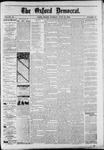 Oxford Democrat : Vol. 50. No.25 - June 26, 1883