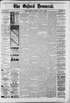 Oxford Democrat : Vol. 50. No.26 - July 03, 1883