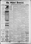 The Oxford Democrat : Vol. 50. No.27 - July 10, 1883