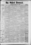 Oxford Democrat : Vol. 50. No.29 - July 24, 1883