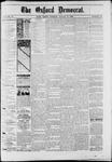 Oxford Democrat : Vol. 50. No.32 - August 14, 1883