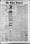 The Oxford Democrat : Vol. 50. No.33 - August 21, 1883