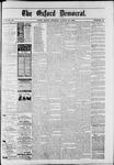 Oxford Democrat : Vol. 50. No.34 - August 28, 1883