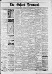 The Oxford Democrat : Vol. 50. No.36 - Septemeber 11, 1883