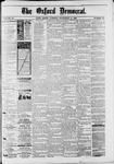 Oxford Democrat : Vol. 50. No.36 - Septemeber 11, 1883