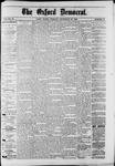 Oxford Democrat : Vol. 50. No.38 - Septemeber 25, 1883