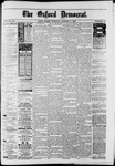 The Oxford Democrat : Vol. 50. No.40 - October 09, 1883