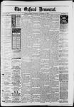 Oxford Democrat : Vol. 50. No.40 - October 09, 1883