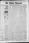 The Oxford Democrat : Vol. 50. No.41 - October 11, 1883