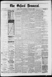 Oxford Democrat : Vol. 50. No.43 - October 23, 1883