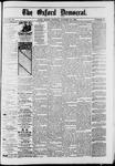 Oxford Democrat : Vol. 50. No.44 - October 30, 1883