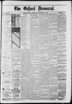 The Oxford Democrat : Vol. 50. No.45 - November 06, 1883