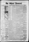 Oxford Democrat : Vol. 50. No.45 - November 06, 1883