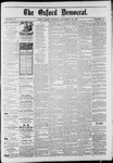 The Oxford Democrat : Vol. 50. No.46 - November 13, 1883