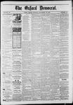 Oxford Democrat : Vol. 50. No.46 - November 13, 1883