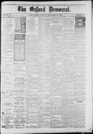 The Oxford Democrat : Vol. 50. No.47 - November 20, 1883