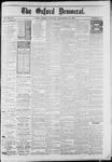 Oxford Democrat : Vol. 50. No.47 - November 20, 1883