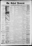 The Oxford Democrat : Vol. 50. No.50 - December 18, 1883