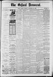 Oxford Democrat : Vol. 50. No.51 - December 25, 1883