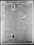 Oxford Democrat : Vol. 64. No. 10 - March 09, 1897