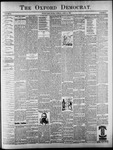 Oxford Democrat : Vol. 64. No. 16 - April 20, 1897