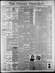 Oxford Democrat : Vol. 64. No. 36 - September 07, 1897