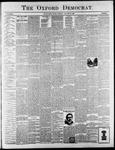 Oxford Democrat : Vol. 65. No. 3 - January 18,1898