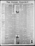 Oxford Democrat : Vol. 65. No. 4 - January 25,1898