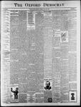 The Oxford Democrat : Vol. 65. No. 21 - May 24,1898