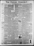Oxford Democrat : Vol. 65. No. 24 - June 14,1898