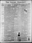 The Oxford Democrat : Vol. 65. No. 28 - July 12,1898
