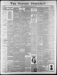 Oxford Democrat : Vol. 65. No. 31 - August 02,1898
