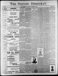 The Oxford Democrat : Vol. 65. No. 39 - September 27,1898