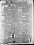 The Oxford Democrat : Vol. 65. No. 41 - October 11,1898