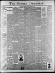 Oxford Democrat : Vol. 65. No. 44 - November 01,1898