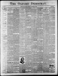 Oxford Democrat : Vol. 65. No. 46 - November 15,1898