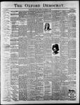 Oxford Democrat : Vol. 65. No. 48 - November 29,1898