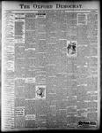 The Oxford Democrat : Vol. 65. No.13 - March 28, 1899