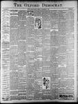 Oxford Democrat : Vol. 65. No.17 -April 25, 1899