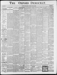 Oxford Democrat : Vol. 65. No.25 -June 20, 1899
