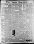 Oxford Democrat : Vol. 67. No.4 - January 23,1900