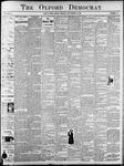 Oxford Democrat : Vol. 67. No.11- - March 13,1900
